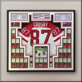 custom framed sports memorabilia