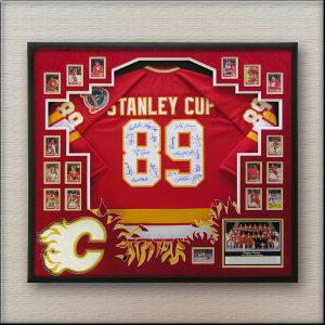Calgary Flames Team signed Jersey