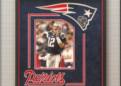 Patriots Football NFL Sports Memorabilia