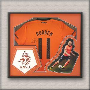 Robben framed Soccer Jersey