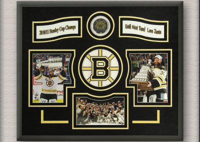 Boston Bruins Hockey Memorabilia