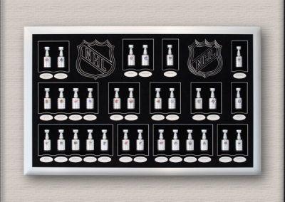 Stanley Cup Hockey Framing