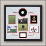 Hole In One Memorabilia Frame