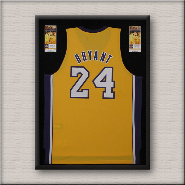 Basketball Jersey Framing