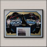 Daytona 500 Sports Memorabilia Framed