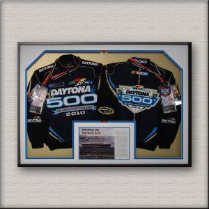 Daytona 500 Sports Memorabilia Framed