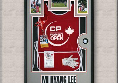 Framed Sports Memorabilia