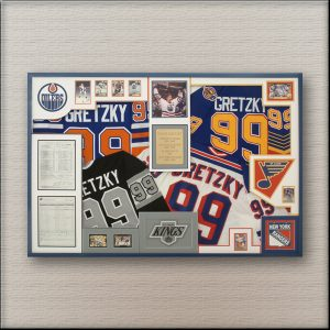 Gretzky Oilers Sports Memorabilia