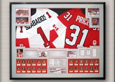 Carey Price Hockey Sports Memorabilia